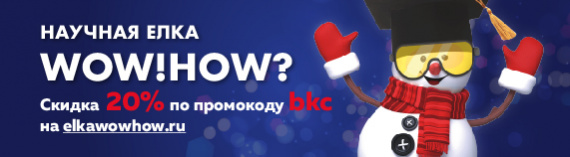 Научная ёлка WOW! HOW?